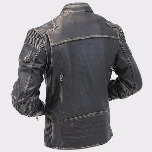 Cafe Racer Leather Jacket