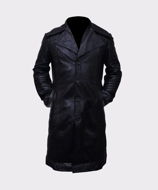 Carlito Way Brigante Pacino Trench Leather Coat