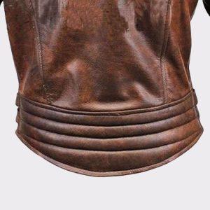 Men's Lambskin Biker Bomber Leather Jacket