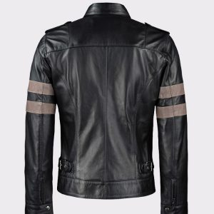 Resident Evil Black Genuine Cow Hide Leather Jacket