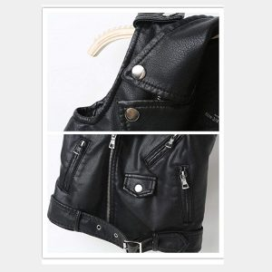 Real leather-Motorcycle-Dress-Casual-Boys-Joker-Vest