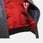 Big Men's Top Grade Club Leather Motorcycle Vest