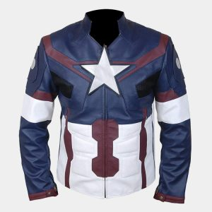 Men's Avengers Age of Ultron Captain America Steve Rogers Jacket