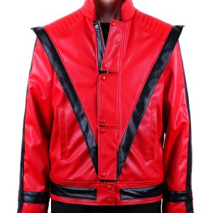 Michael Jackson Costume Thriller Leather Jacket Adult-Child