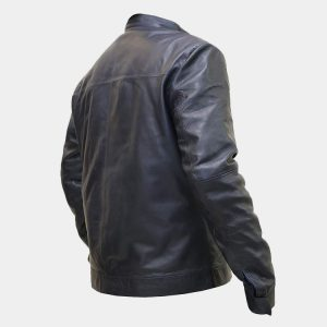 Tom Cruise Mission Impossible Fallout Black Leather Jacket