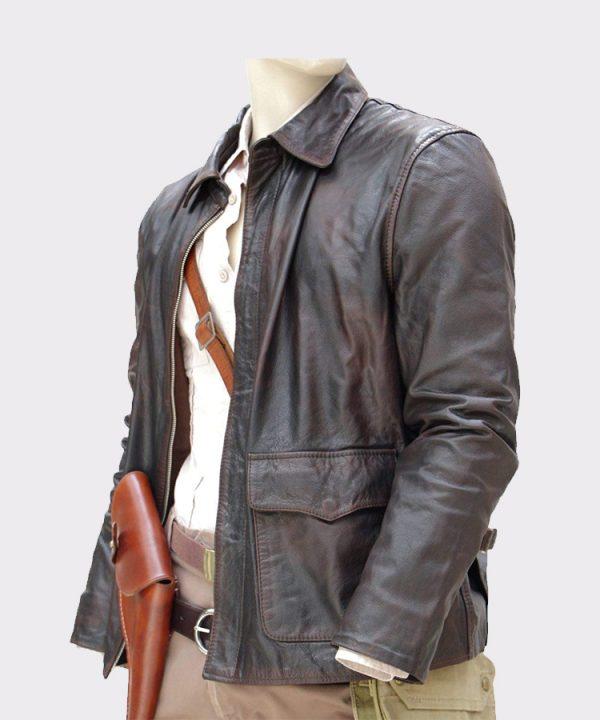 Indiana Jones Adventure Leather Jacket