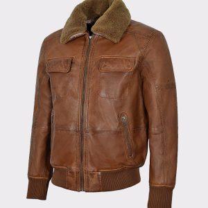 Men's AIR Force Fur Collar Bomber jacket