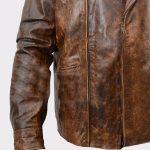 Biker Real Cowhide Leather Jacket