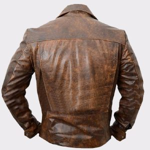 Biker Real Cowhide Leather Jacket