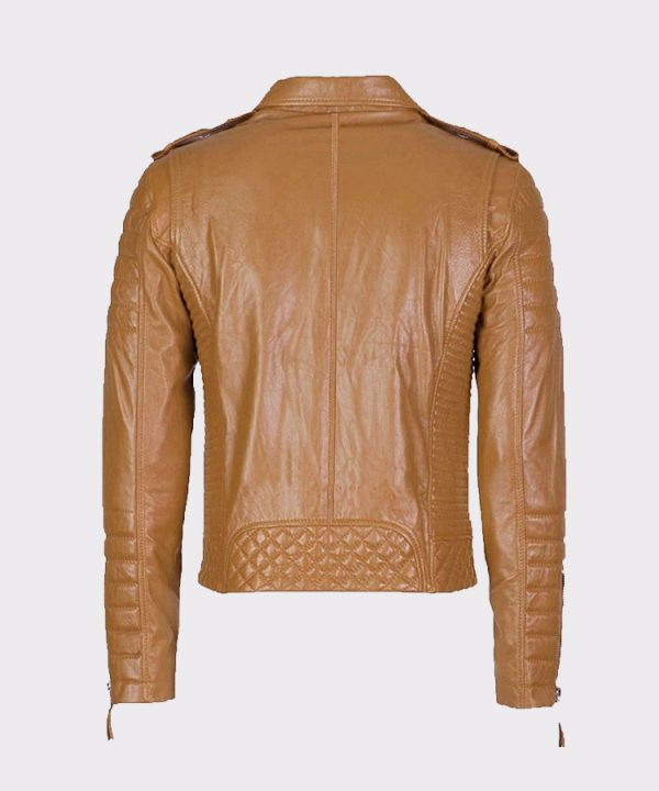 Mens Real Leather Jackets for Motorcycle Biker
