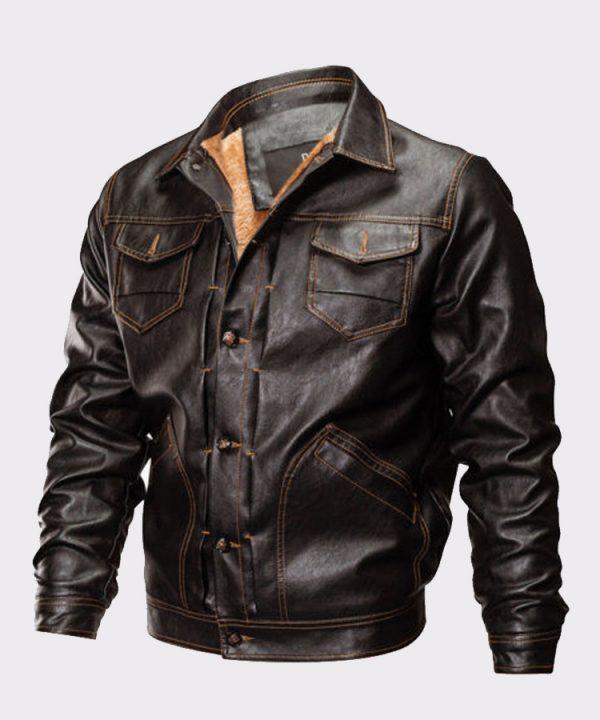 Men's Winter Warm Bomer Jacket