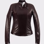 Real Premium Lambskin Leather Jacket-Handmade