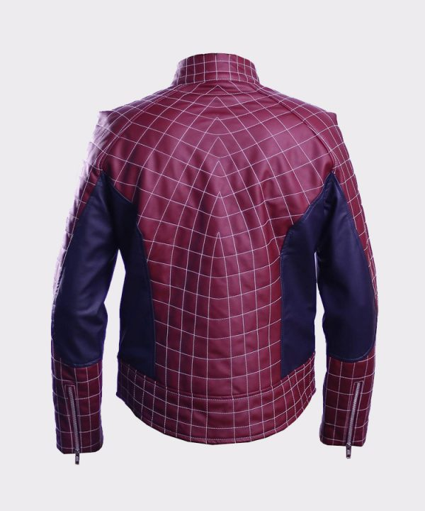 Spider The Man Cosplay Faux Leather Costume