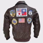 Tom Cruise Bomber Leather Jacket