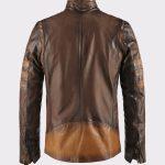 X Men Wolverine Brown Leather Jacket