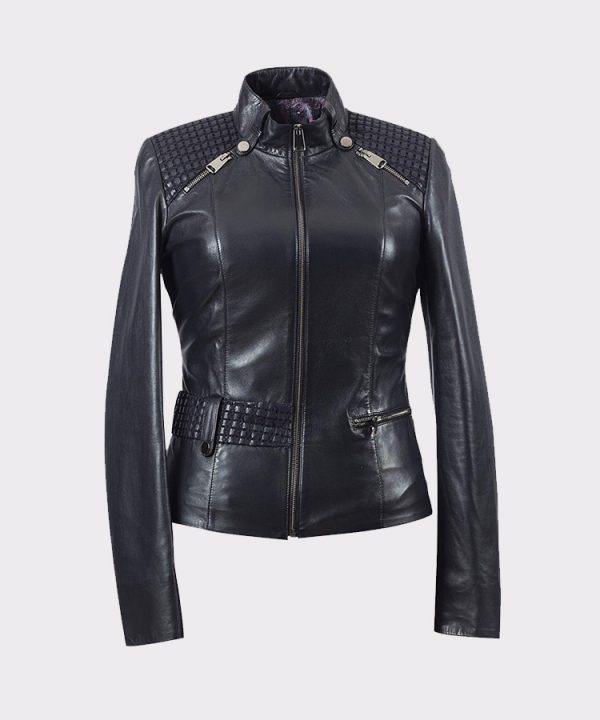womens Real Premium Lambskin Leather Jacket