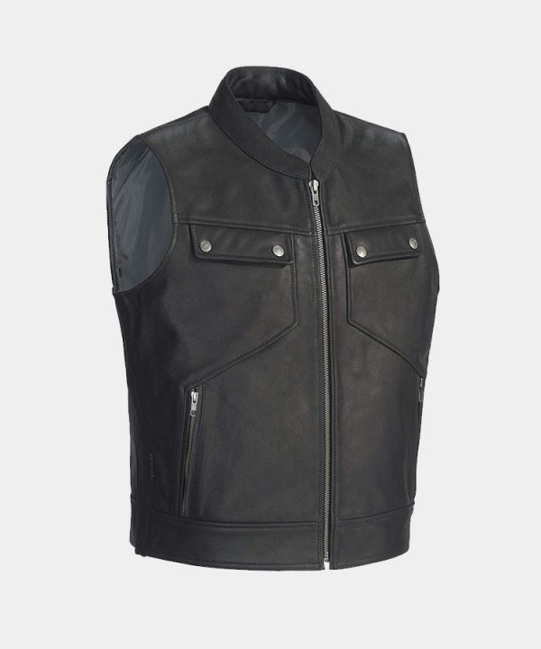 Men's Nomad Leather Vest