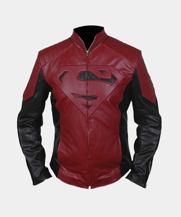 Men's Superman Genuine Leather Jacket