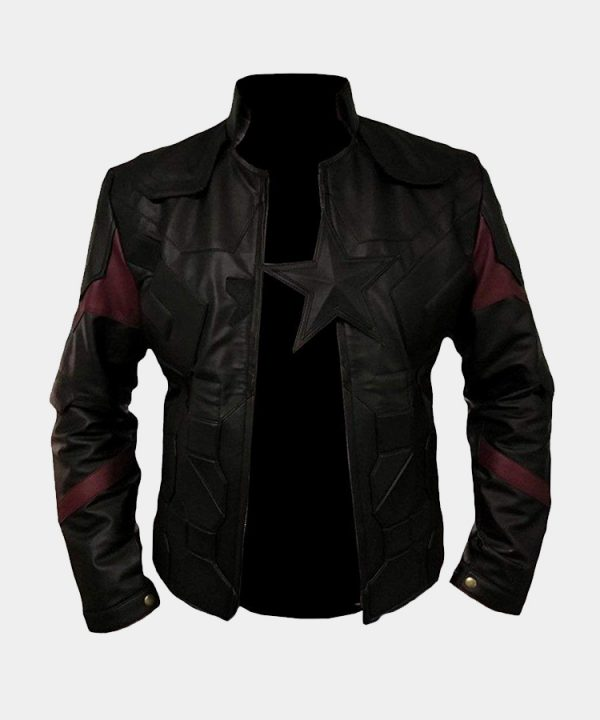 New Avengers Infinity War 2018 Captain America Jacket