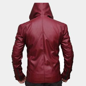 Stephen Amell Roy Harper Arrow Jacket in Red