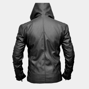 Stephen Amell Roy Harper Green Arrow Faux Leather Jacket