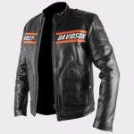 Bill Goldberg Wwe Harley Davidson Classic Motorcycle Leather Jacket