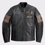 Harley Davidson Biker Genuine Leather Jacket