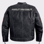 Harley Davidson Black Boxford Leather Jacket