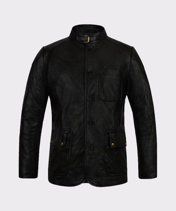 Buy Celebrity Debonair Hugh Jackman Real Steel Leather Fashion Jacket