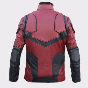 Buy Daredevil Matt Murdock Charlie Cox Faux Leather Jacket Back