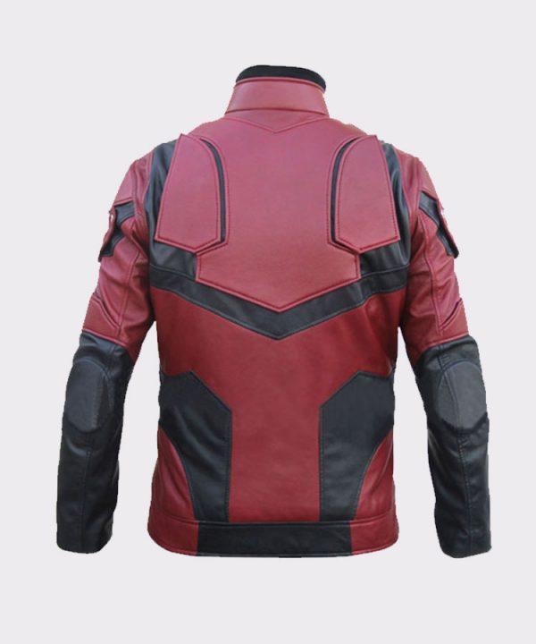 Buy Daredevil Matt Murdock Charlie Cox Faux Leather Jacket Back