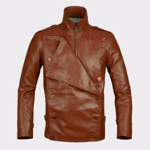 Celebrity Bill Clifford the Rocketeer Classic Vintage Leather Jacket 1