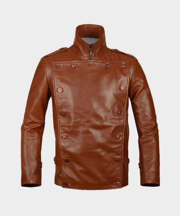Celebrity Bill Clifford the Rocketeer Classic Vintage Leather Jacket