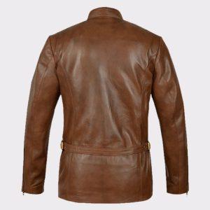 Celebrity Jason Momoa Justice League Arthur Curry Leather back