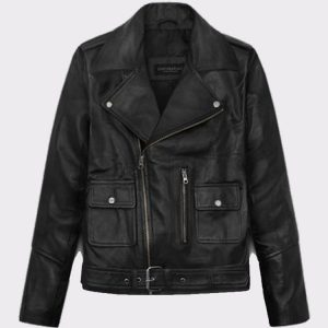 Ladies Beautiful Alicia Vikander Tomb Raider Biker Leather Jacket