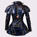 Ladies Descendants 2 Evie Leather Fashion Jacket Back