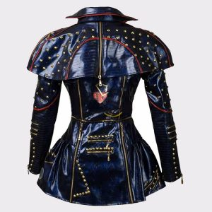 Ladies Descendants 2 Evie Leather Fashion Jacket Back