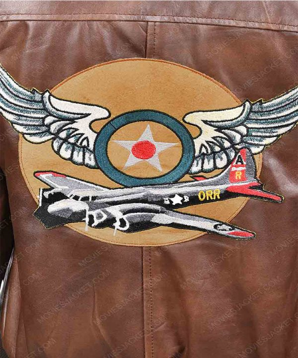 Ladies Flight Captain Marvel Brie Larson Genuine Cowhide Bomber Jacket 3