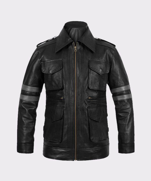 Leon Kennedy Men Fashion Resident Evil 6 Leather Jacket