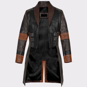 Women Guardians of the Galaxy Vol 2 Zoe Saldana Leather Coat