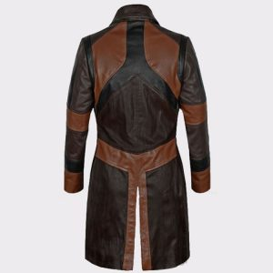 Women Guardians of the Galaxy Vol 2 Zoe Saldana Leather Coat1