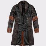 Women Guardians of the Galaxy Vol 2 Zoe Saldana Leather Coat1