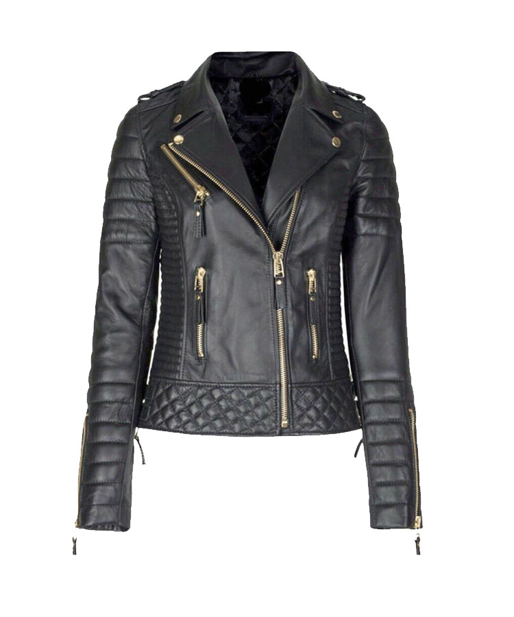 Women S Genuine Lambskin Leather Slim Fit Ladies Biker Jacket You don't need to drive yourself crazy. women s genuine lambskin leather slim